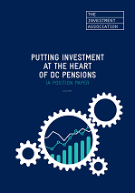Front cover image of DC pensions report