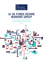 Front cover image of the IA UKFRWG report
