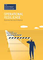 Front cover image of the Operational Resilience Report