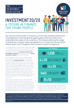 Front cover image of Investment2020 quick brief