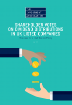 Front cover image of Shareholder Votes paper