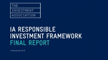 IA Responsible Investment Framework